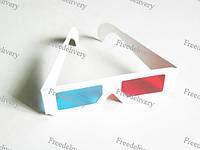 Анаглифные Стерео очки 3D голубой красный