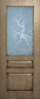 Дверь межкомнатная Верона полотно со стеклом