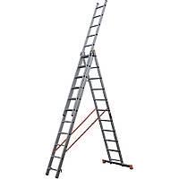 Лестница алюминиевая трехсекционная STS 3х8, фото 1
