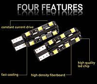 Cветодиод T10 LED CAN-BUS (габаритные огни с обманкой)