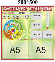 Календарь природы Градусник Зеленый