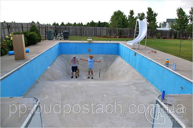 Будівництво басейну своїми руками