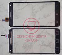 Lenovo S580 сенсорний екран, тачскрін чорний