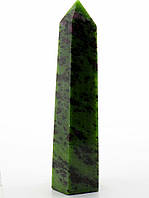 Камень Цоизит 30х25х125мм. сувениры, кристаллы и талисманы из натуральных камней № 036065