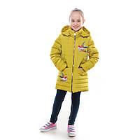 """Детская куртка демисезонная для девочки """"Колибри"""" с капюшоном,новинка 2017года"""