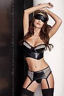 Женский эротический комплект Passion VIRGIN SET черный S\M