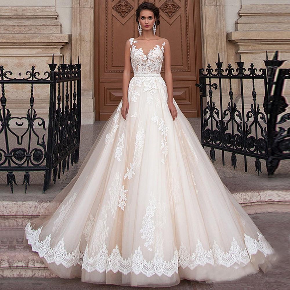 631e5435d8b7661 Пышное свадебное платье, свадебное платье капуччино, роскошное свадебное  платье