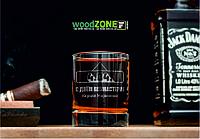 Именной стакан для виски «День вебмастера»