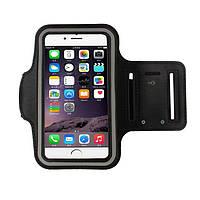Чехол Sport iPhone5 black на руку в упаковке