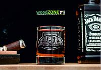 Именной стакан для виски «Космический полёт»