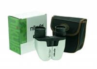 Бинокль Nikula 8-17x25, zoom, + салфетка для линз, + чехол. Бинокль для театра, прогулки. Качественная оптика.