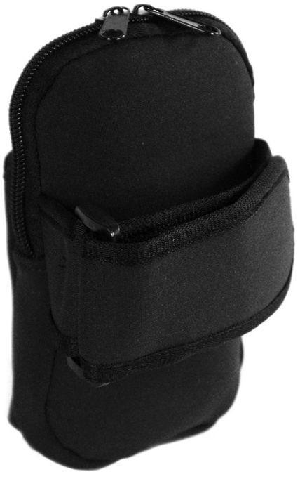 Сумка на руку из неопрена Traum 7019-01, черная