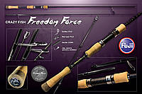 "Спиннинг FREEDOM FORCE FF692ULT (1,5-7g 210cm 6'9"")"