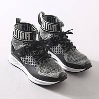 Мужские кроссовки Puma Ignite evoKnit black-white