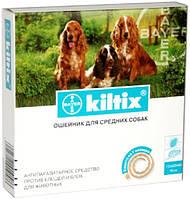 Kiltix (Килтикс) ошейник от блох и клещей  48 см (Bayer)