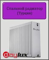 Стальной радиатор Daylux 300х400 33 типа боковое подключение