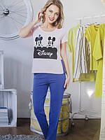 Модные пижамы с мультяшным рисунком