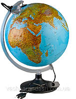 Глобус рельефный Уранио 300 мм. Uranio 300 мм. Карта русск.