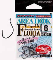 Крючок Decoy AH-IX FLORIA 6, 12 шт