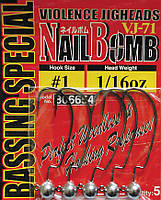 Крючок Decoy Nail Bomb VJ-71 1/0 3,5г, 5шт