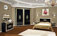 Спальня 4Д София черная