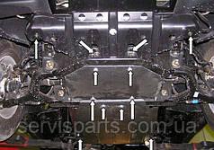 Защита двигателя Ssang Yong Actyon (Санг Йонг Актион)