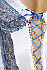 Эротическая сорочка платье Passion ELENI CHEMISE 4XL\5XL, фото 2
