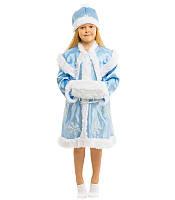 Детский маскарадный костюм Снегурочки (4 до 8 лет) — купить в Розницу в одессе 7км