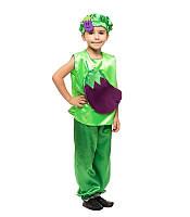 Детский маскарадный костюм Баклажана (110-128 рост) — от компании Discounter.top