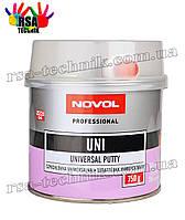 Шпатлевка универсальная UNI NOVOL UNIVERSAL PUTTY Professional 750 гр