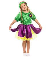 Детский маскарадный костюм Фиалки для девочки (116-134 рост) — купить в Розницу в одессе 7км