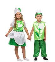Детский маскарадный костюм Подснежника для мальчика (110-128 рост) — купить в Розницу в одессе 7км
