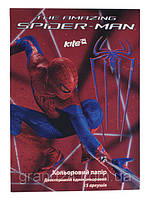 Бумага цветная двустор. Spider-man А4 (15л./15цв.) SM13-250K