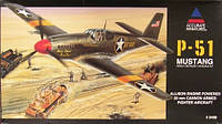P-51 Mustang 1/48 ACCURATE MINIATURES  3400