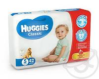 Подгузники HUGGIES Classic 5 (11-25kg) 42шт.