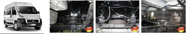 Установить пневмоподвеску Fiat Ducato(Фиат Дукато), пневмоподвеска Fiat Ducato(Фиат Дукато),усиление рессор и установка дополнительной пневмоподвески