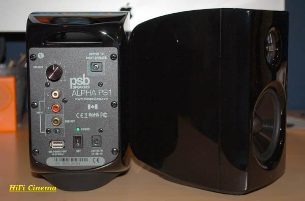 PSB ALPHA PS1 - Активная полочная акустическая система