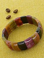 Браслет Турмалин 44,8 г. украшения из натуральных и искусственных камней № 036744
