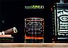 Именной стакан для виски «С Днём ВМФ»