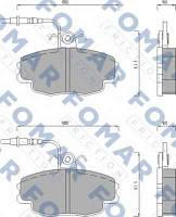 Комплект тормозных колодок FOMAR Friction 498681