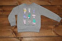 Детская кофта,реглан  для девочек розница дроп. 120грн 130грн