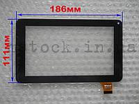 Touch screen (Сенсор) Bravis Np71 (ver2) (186*111) Чёрный (TEST OK)