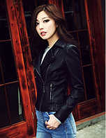 Женская кожаная куртка. Модель 2040, фото 3