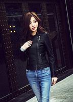 Женская кожаная куртка. Модель 2040, фото 4