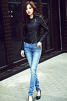Женская кожаная куртка. Модель 2040, фото 5