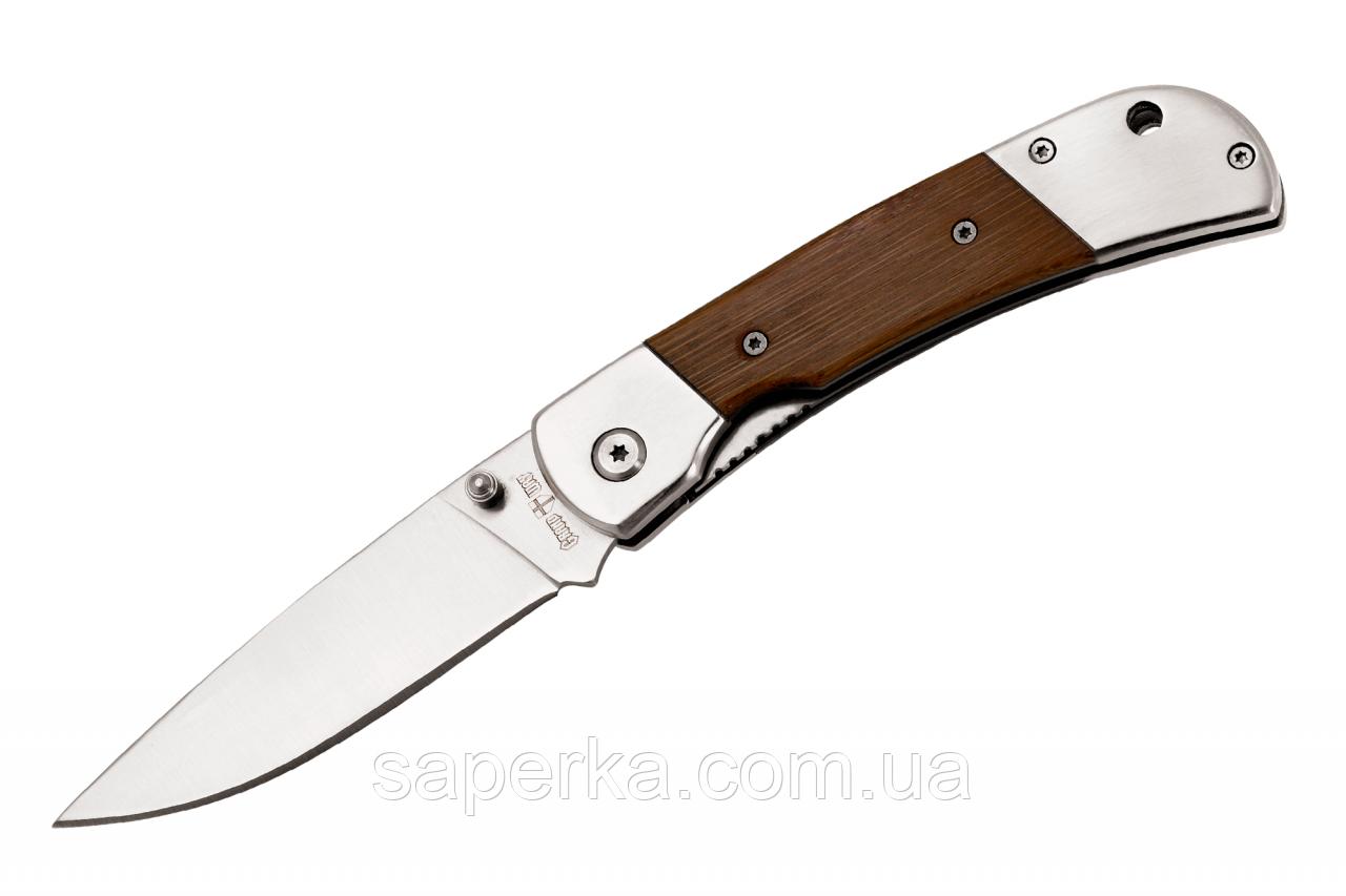Нож складной универсальный с отверстием для темляка 6322 ACW