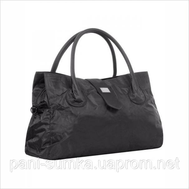 Дорожная сумка - саквояж Epol 23601 большая черная, расцветки