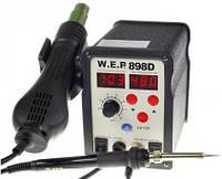 Паяльная станция WEP 898D (фен, паяльник)