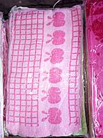 Кухонное качественные полотенца клубника