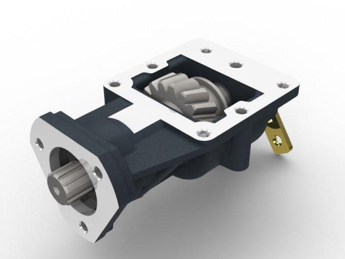 Коробка отбора мощности Iveco 2826.5